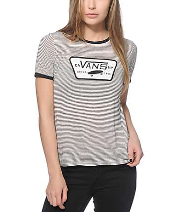 Vans Full Patch Ringer T-Shirt