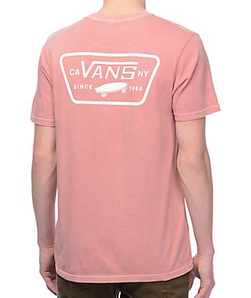 Vans Full Patch Rose & White Pigment T-Shirt