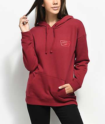 Vans Full Patch Tibetan Red Hoodie
