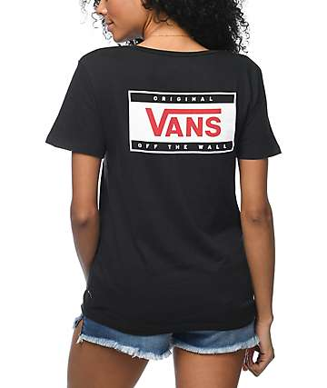 Vans Go Forward camiseta negra