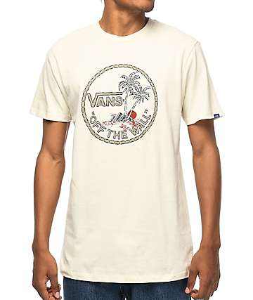 Vans Havana Dual Palm Off-White T-Shirt