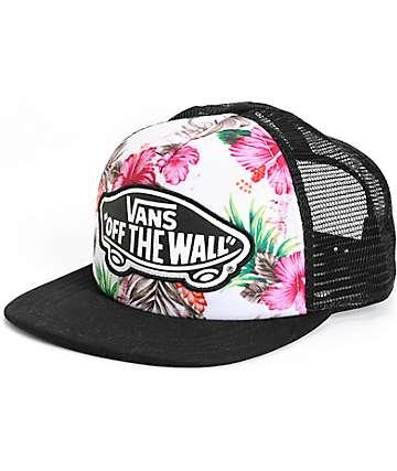 Vans Hawaiian Floral Trucker Hat