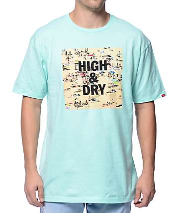 Vans High & Dry Mint T-Shirt