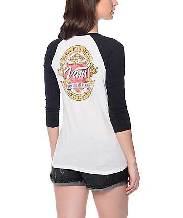 Vans Hoppy Hour Baseball T-Shirt