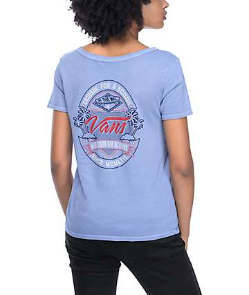 Vans Hoppy Hour Infinity Blue T-Shirt