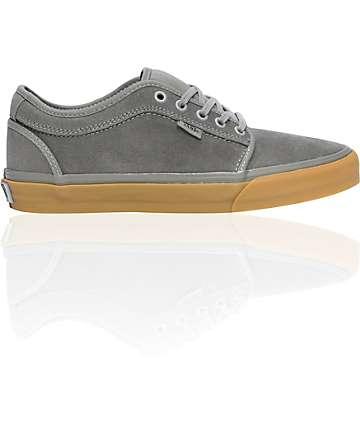 Vans Jamie Hart Charcoal & Gum Chukka Low Skate Shoes (Mens)