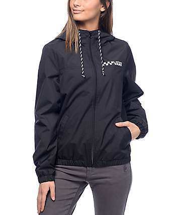 Vans Kastle 1K MTE Black Lined Windbreaker Jacket