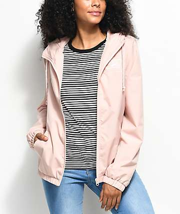 Vans Kastle Evening Sand chaqueta contravientos en color arena