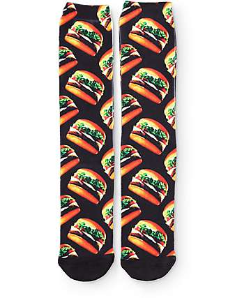 Vans Late Night Burger Crew Socks