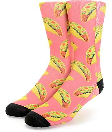 Vans Late Night Taco Crew Socks