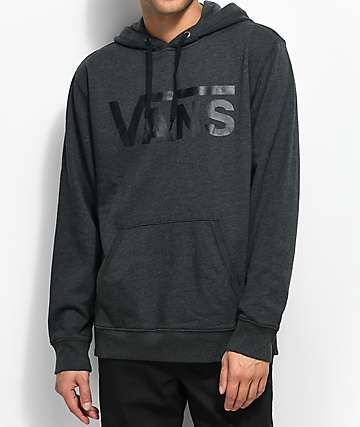 Vans MN Classic Heather Black Hoodie