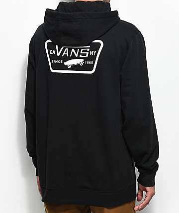 Vans MN Full Patch Black Hoodie
