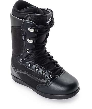 Vans Mantra Black Snowboard Boots