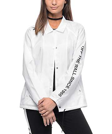 Vans OTW 66 White Coaches Jacket
