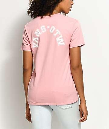 Vans OTW Blossom Pink Boyfriend T-Shirt