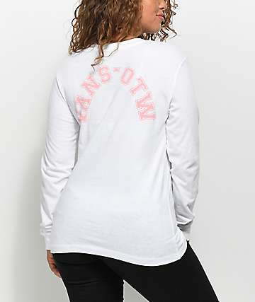 Vans OTW Collegiate White Long Sleeve T-Shirt