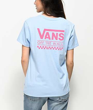 Vans OTW Light Blue & Pink T-Shirt
