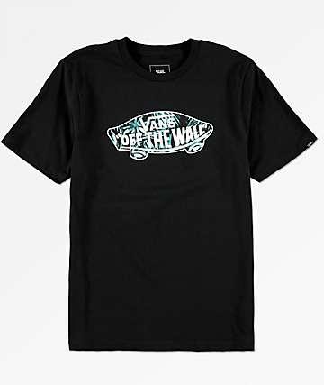 Vans OTW Logo camiseta negra para niños