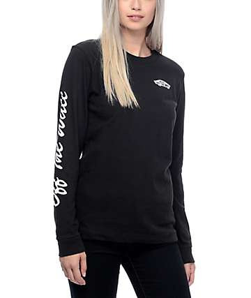 Vans OTW camiseta manga larga en negro