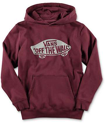Vans Off The Wall Port Youth Hoodie