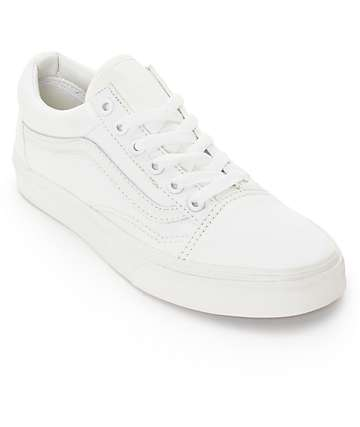 Vans Old Skool Blanc De Blanc Shoes (Womens)