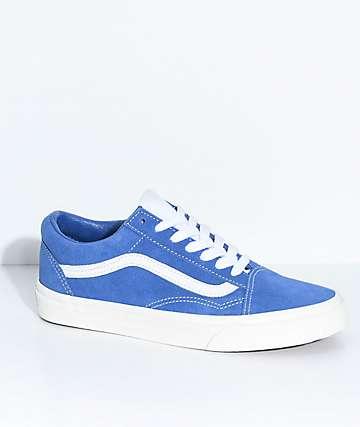 Vans Old Skool Blue Retro Sport Skate Shoes