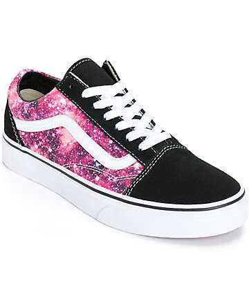 Vans Old Skool Cosmic Cloud Shoes (Womens)
