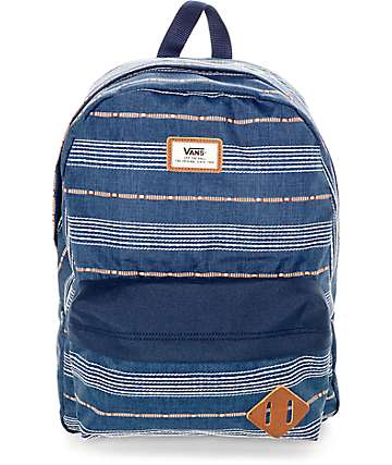 Vans Old Skool Dress Blue 22L Backpack