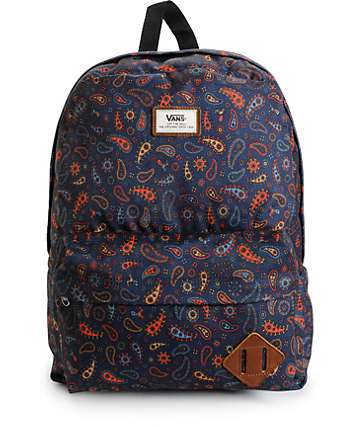 Vans Old Skool II Black Iris Fun Guy Backpack