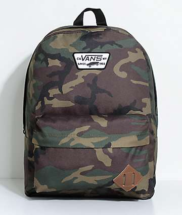 Vans Old Skool II Classic Camo 22L Backpack