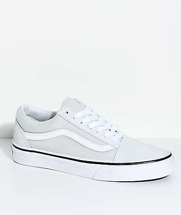 Vans Old Skool Ice Flow & True White Skate Shoes