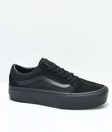 Vans Old Skool Platform Skate Shoes