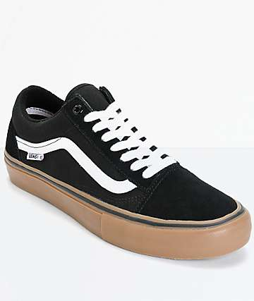 Vans Old Skool Pro Skate Shoes (Mens)