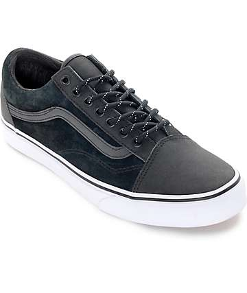 Vans Old Skool Reissue DX Black Reflective Shoes