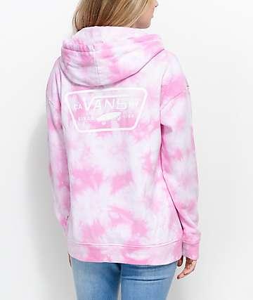 Vans Pink Tie Dye Hoodie