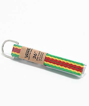 Vans Rasta Shoelaces