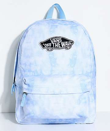 Vans Realm Blue Cloud Wash 22L Backpack