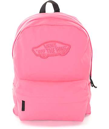 Vans Realm Camellia Rose Backpack