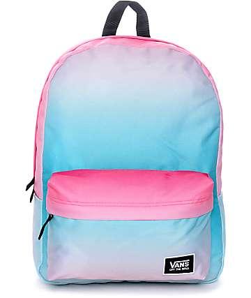 Vans Realm Classic Geranium Backpack