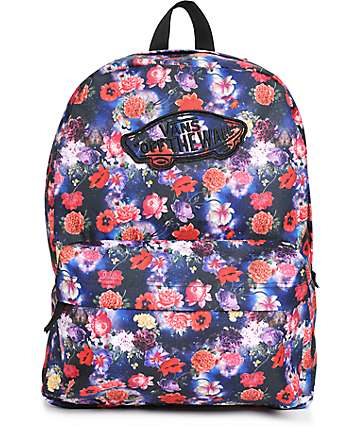 Vans Realm Galaxy Floral Backpack