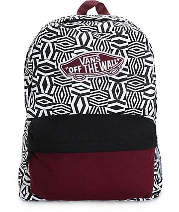 Vans Realm Geo Colorblock Backpack