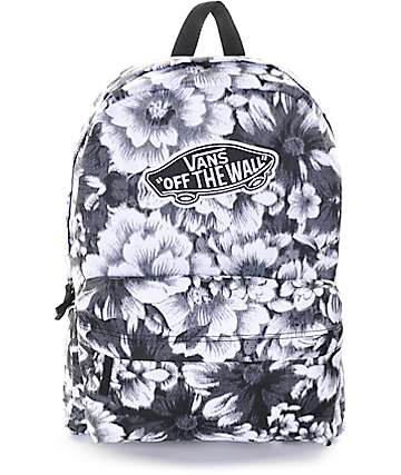 Vans Realm Mono Floral Backpack