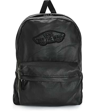 Vans Realm Perforated Leather Backpack