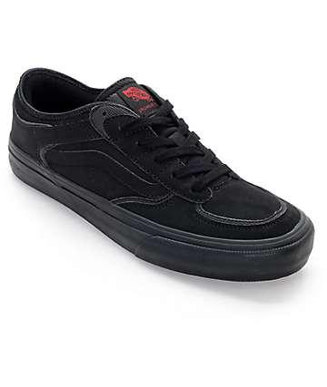 Vans Rowley Pro 50th Anniversary zapatos de skate en negro puro