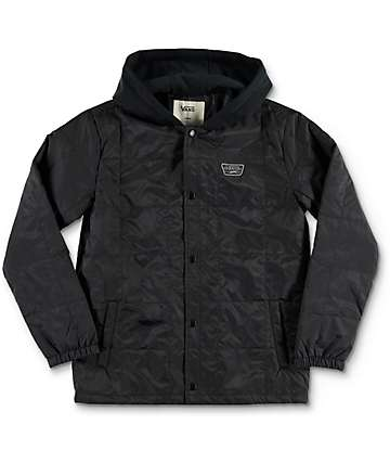 Vans Santiago III Black Jacket