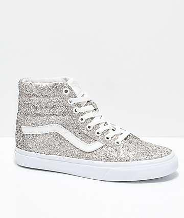 Vans Sk8-Hi Chunky Glitter Skate Shoes