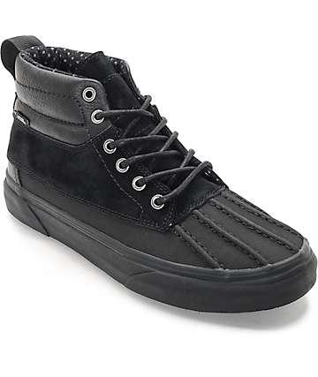 Vans Sk8-Hi Del Pato zapatos en negro y negro