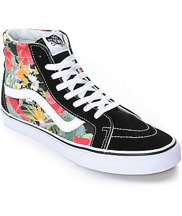 Vans Sk8-Hi Digi Aloha Skate Shoes (Mens)
