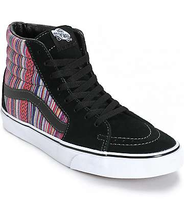 Vans Sk8-Hi Guate Weave Skate Shoes (Mens)
