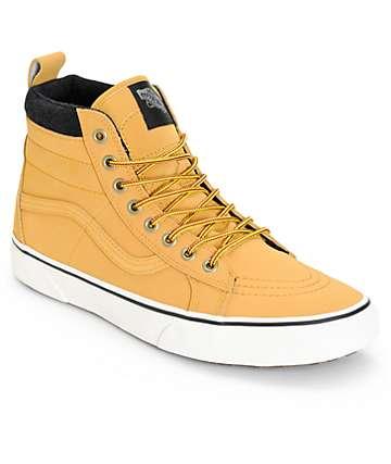 Vans Sk8 Hi MTE zapatos de skate de cuero